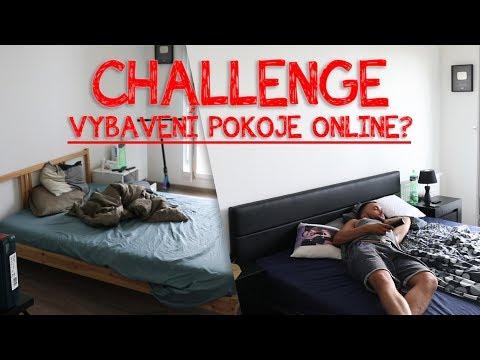 CHALLENGE - VYBAVENÍ POKOJE ONLINE?