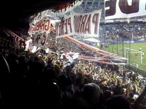 """""""River Plate vs independiente Fecha 15 Apertura 08 no veo la hora"""" Barra: Los Borrachos del Tablón • Club: River Plate"""