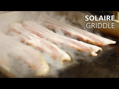 Solaire Stainless Steel Griddle Accessory