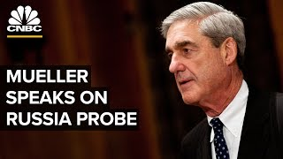 Special counsel Robert Mueller speaks on the Russia investigation -- 05/29/2019