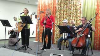 Kasia Haroldsen & Family Band at the Spokane Folk Festival, November 10, 2013
