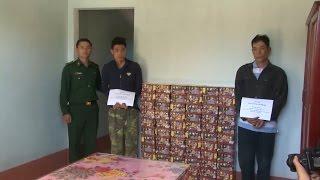 Kon Tum bắt giữ nhiều vụ vận chuyển pháo lậu qua biên giới