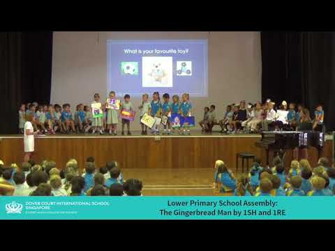 Lower Primary Assembly: The Gingerbread Man by 1SH and 1RE