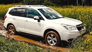 Субару Форестер: лучшая подвеска для наших дорог! Тест драйв Subaru Forester 2015 на ходу (ч.5)