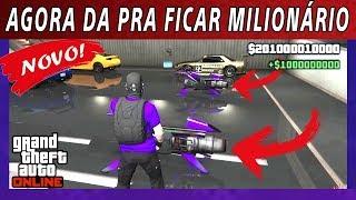 BUG DE DINHEIRO INFINITO MILIONÁRIO SOLO NO GTA 5 ONLINE, GANHE R$2.750.000 DÓLARES
