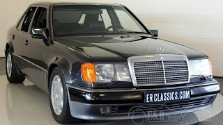 Mercedes-Benz 500E 1991 hand built by Porsche full history present -VIDEO- www.ERclassics.com