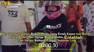 Story drag bike NGO||Quotes rindu