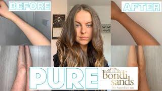NEW BONDI SANDS PURE RANGE! Is it worth the hype?