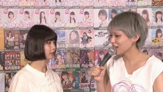 NMB48木下百花市川美織AKB48総選挙2017アピール生放送
