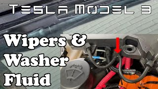 Tesla Model 3 - Wipers & Washer Fluid