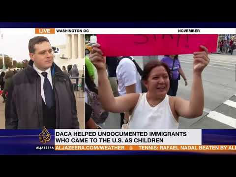 Interviewed on Al Jazeera English about the DACA Case