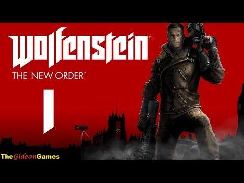 Прохождение Wolfenstein: The New Order (2014) HD - Часть 1 (Каждому Черепу - по черепу!)