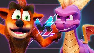 Spyro Reignited Trilogy Vs. Crash Bandicoot N. Sane Trilogy   Versus
