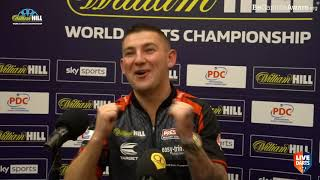 """Nathan Aspinall on sudden death win over Waites: """"I believed I was out – the gods were with me"""""""