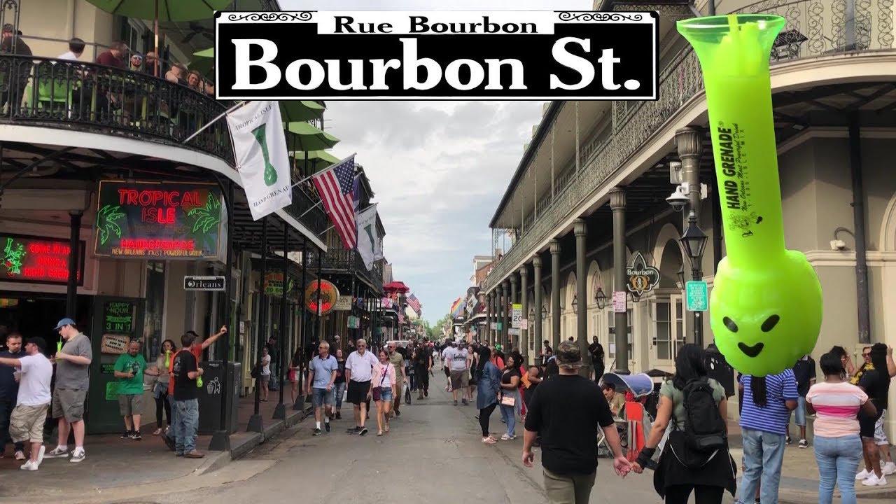 Go Drinking on Bourbon Street