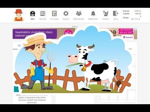 CowLook - Yatirimsiz pul qazandiran oyun !!!