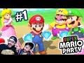 Diamantes Con Luigi Y Mario Super Mario Party Capitulo1