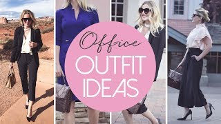 5 Modern & Chic Office Outfit Ideas | Fashion Over 40