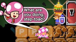 Step-Toad, I'm Stuck! [Super Mario Maker 2 - WALKIES]