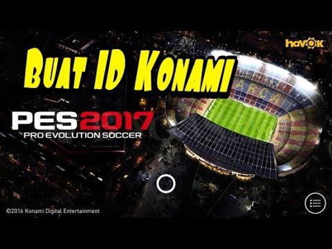 Video Cara membuat ID Konami Pes 2017 Android
