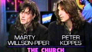 The Church interviewed on MuchMusic 1988