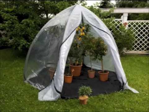 Florino - die mobile Orangerie zum Überwintern Ihrer Pflanzen