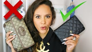 5 BEST & WORST INVESTMENT BAGS 2019 | GUCCI MARMONT, BIRKIN & MORE