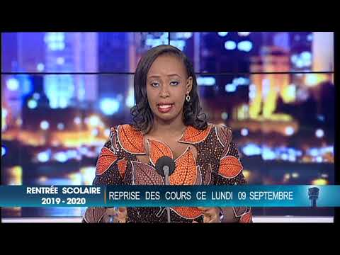 Le 20 Heures de RTI 1 du 09 septembre 2019 par Fatou Fofana Camara Le 20 Heures de RTI 1 du 09 septembre 2019 par Fatou Fofana Camara