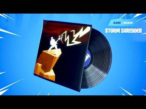 *NEW* Fortnite Storm Shredder Lobby Music.! (Rock Out Music)