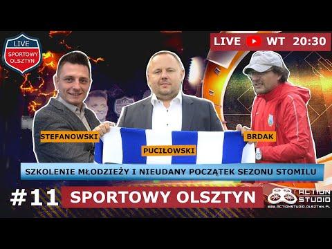 Puciłowski i Brdak w programie Sportowy Olsztyn