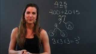 How To Decompose Numbers : Math Tips