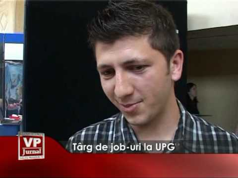 Târguri de job-uri la UPG