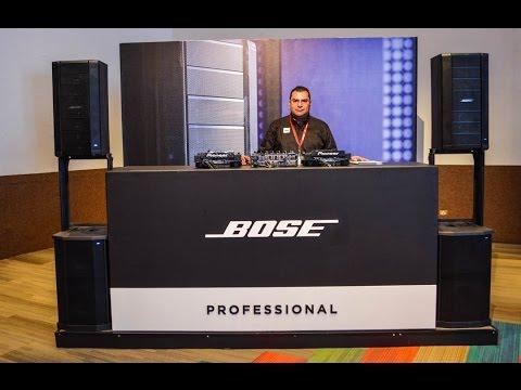 Bose profesional presente en la SOUND:CHECK XPO 2017