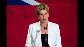 Kathleen Wynne resigns as Ontario Liberal Party leader