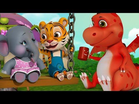 Friendly Dragon Ki Kahaniya | Hindi Stories for Kids | Infobells