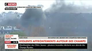 Yellow Vests Watch in video the images of the clashes in the different districts of Paris in french