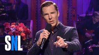 Бенедикт Камбербэтч, Benedict Cumberbatch Monologue - SNL
