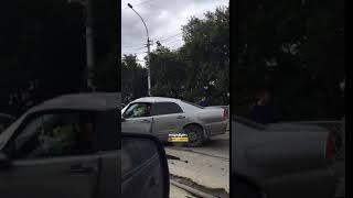 Новосибирск. ДТП на мосту.