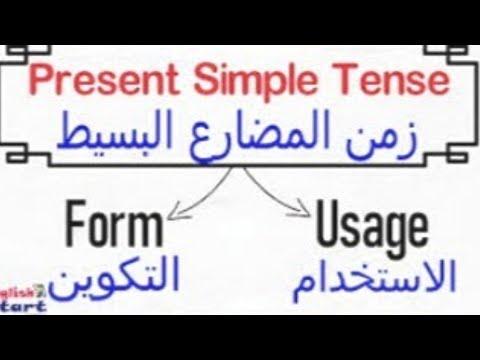 زمن المضارع البسيط The Present simple tense | مستر/ محمد الشريف | كورسات تأسيسية منوع  | طالب اون لاين