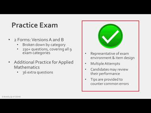 BACE - Review of Practice Exam Content - YouTube