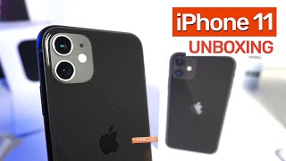 Unboxing the iPhone 11 + Black Silicone Case — Upgrading from iPhone 7