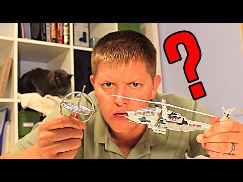 Fyzika helikoptér #4: Jsou to gyroskopy - Smarter Every Day