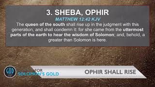 Prophecy on the Ophir (Queen of the South)