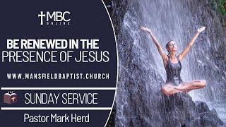 Ezekial 47v 1-12: Renewed in the Prescence of Jesus