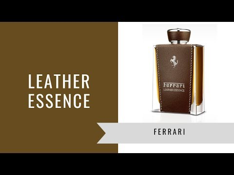 Leather Essence by Ferrari | Fragrance Review