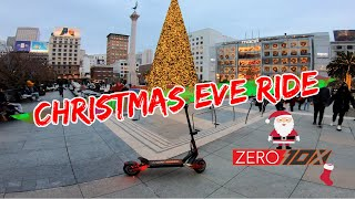 Christmas Eve Ride on Zero 10x in Downtown San Francisco | GoPro Hero 7 RAW FPV
