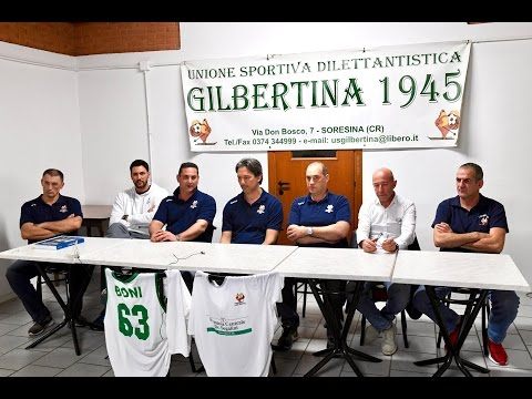 Preview video Conferenza Stampa di presentazione di MARIO BONI alla Gilbertina Soresina