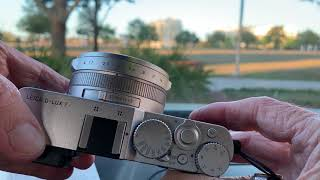 Leica D-Lux7 4/3 Sensor Enthusiast Camera review by Dale