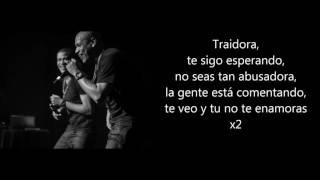 Traidora - Gente de Zona ft. Marc Anthony (letra) (lyrics)