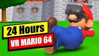 Spending 24 Hours in VR Super Mario 64